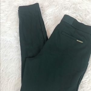 Anne Klein Dark Emerald Green Ponte Pants